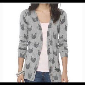 Mossimo target gray cat cardigan, never worn
